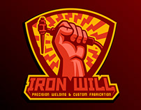 Logo for welding company
