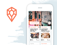 Trewel. Mobile app for travelers and local guides