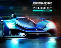 Ingolstadt bis Prag endurance racer sketch-a-ton