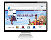 American Express Homepage Banner