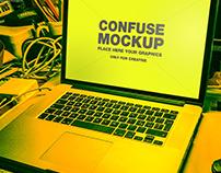 FREE MOCKUP - CONFUSED MOCKUP BY RMD