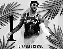 NBA - D`angelo Russel - Broklin nets