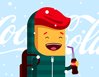 Coca Cola - The Xmas Gif Language