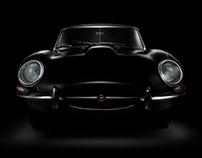 Jaguar E-Type fine art (personal project)