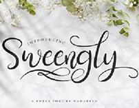 Sweengly - Sweet Script Font (Free)