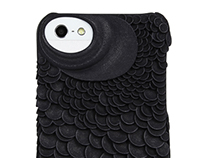 Barracuda pattern for Fierce Forms phone cases