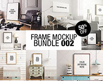 Frame Mockup Bundle 002 - 50% OFF