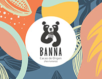 Banna Chocolate Package Design