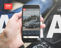 AMA Centre Website Redesign
