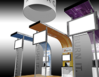 Trade Show Installations, Rimage Corporation, NAB 2012