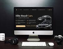 Landing Page для компании Elite Royal Cars