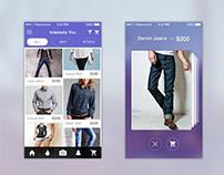 Shopping App – Free Ecoomerce Mobile UI Kit PSD
