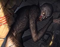 3 panel horror - Nosferatu