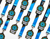 Scout Run visual identity, medal design ⚜️