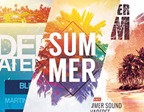 Summer Poster Designs