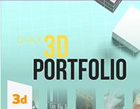 3D Porftolio 2017-2018