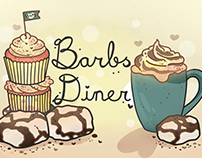 Barbs Diner - Cafe Sign Project.