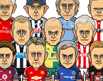 2015-16 Premier League Managers