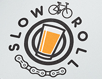 Slow Roll Logo - Stadium Bike