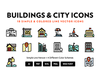 Building & City Icons