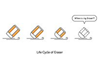 Life Cycle of Eraser
