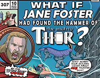 What If Jane Foster Had Found the Hammer of Thor