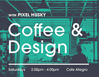 Coffee & Design Event Banner