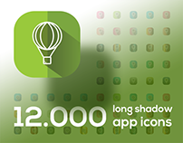 12.000+ every Taste Long Shadow App icons !
