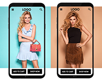 Mobile Website Concept For Online Fashion Store