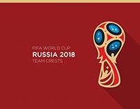 2018 Fifa World Cup   Team Logos