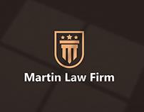 Martin Law Firm - Branding