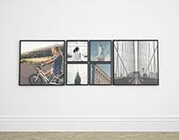 Premium Frame Gallery Mockup