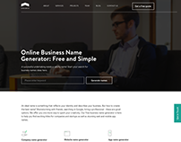 Online Business Name Generator