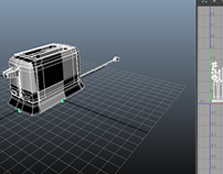 toaster asset uvs for game internship