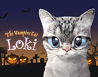 The Vampire cat Loki Theme