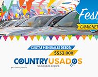 Advertising  - Country motors  Chevrolet Barranquilla