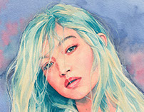 Gigi watercolor
