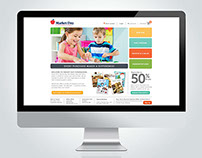 MarketDayFundraising.com Homepage Redesign