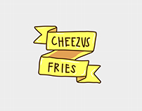 Cheezus Sticker Series (WIP)