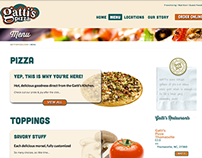 Gatti's Pizza Website Redesign & Development