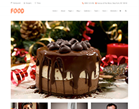 Food Post Page Photo on Gallery - Food WordPress Theme