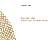 Identità visiva Infiorata di San Pier Niceto