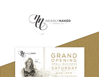 Nearly Naked Lingerie Co | Branding & Collateral