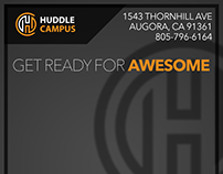 Huddle Campus Personalized Header