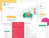 Miiw ● Online tchat ● UI / UX design / VueJS