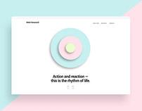 Personal portfolio website - Milos Stevanovic