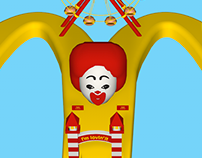 3D DEMO - MC DONALDS