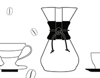 Coffee icons SVG