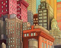 Logo Batman Vs Superman in New-York