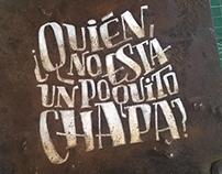 Hand lettering • CHAPA